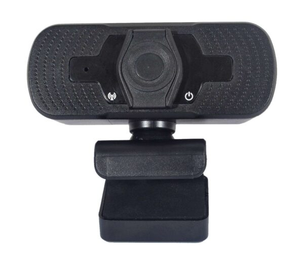 webcam with privacy cap