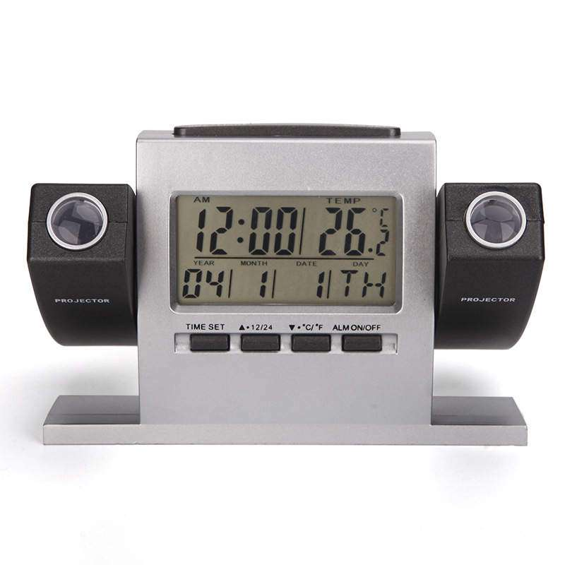Dual Projector Clock